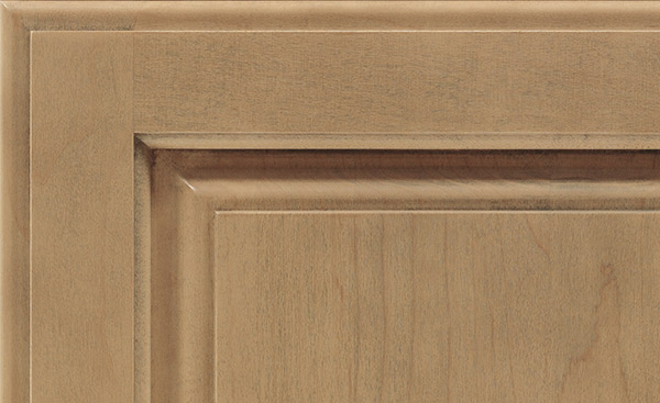Gunny cabinet finish on Maple