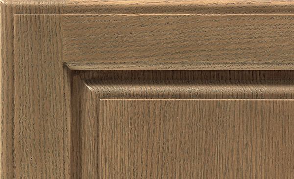 Gunny cabinet finish on Quartersawn Oak