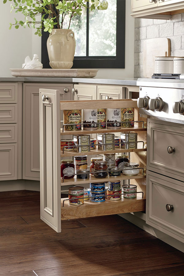 Base Can Storage Cabinet