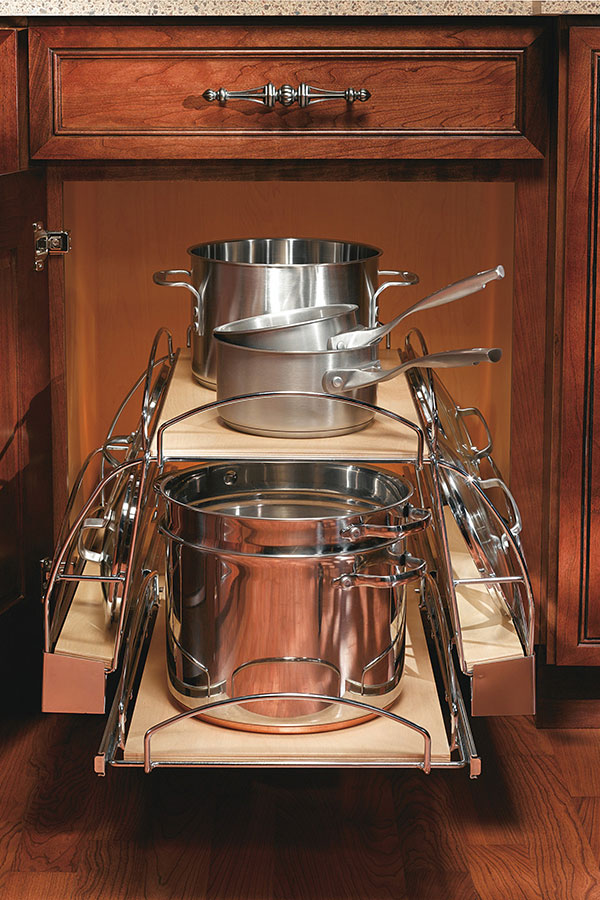 Base Pots and Pans Pull Out Cabinet
