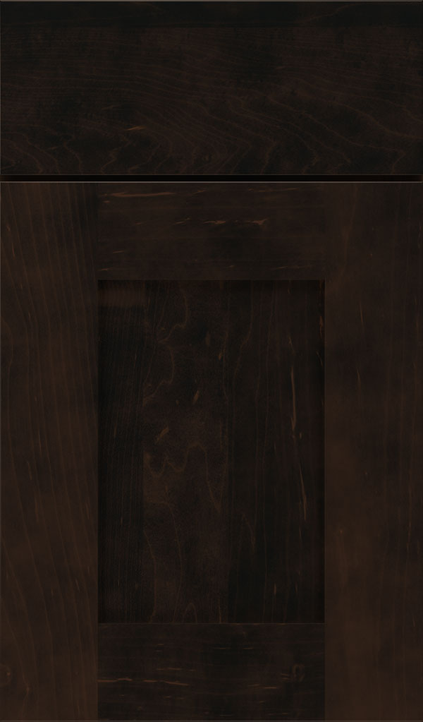 Artisan Maple Shaker Cabinet Door in Teaberry