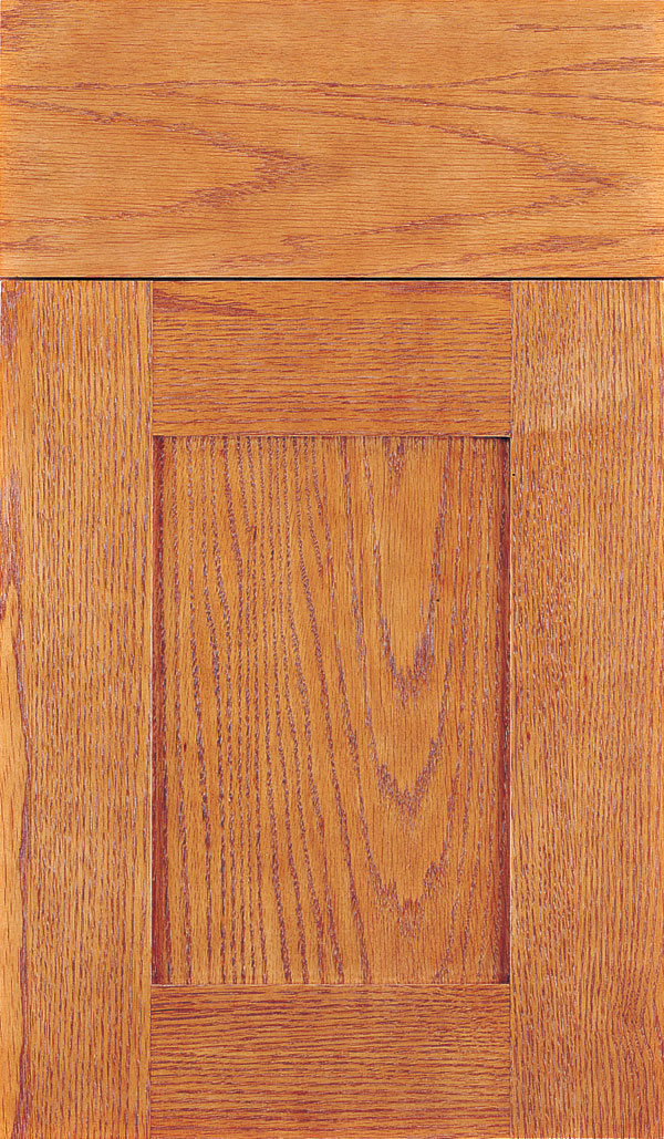Artisan Oak Shaker Cabinet Door in Pheasant