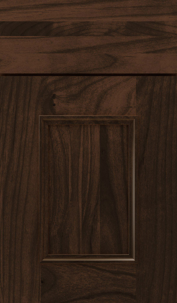 Atwater Alder flat panel cabinet door in Bombay