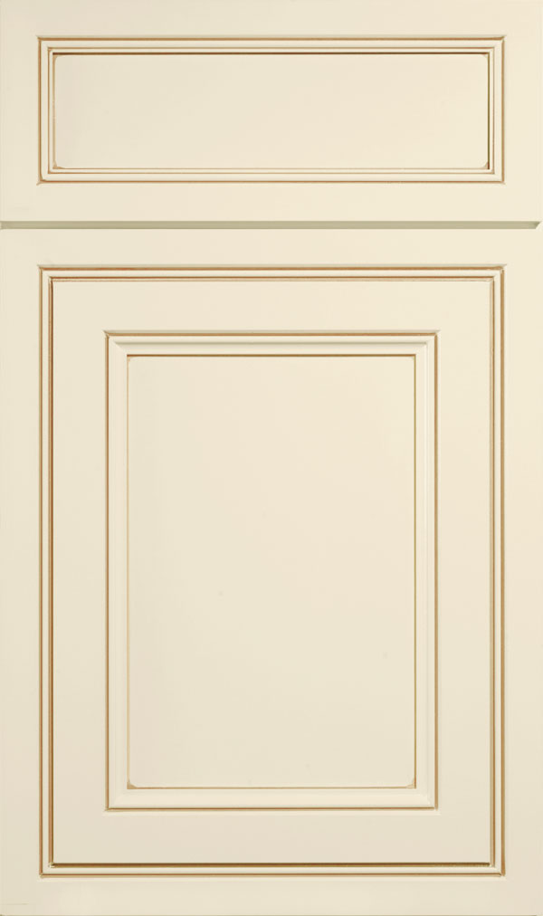 Braydon Manor 5-piece Maple flat panel cabinet door in Chantille Coffee