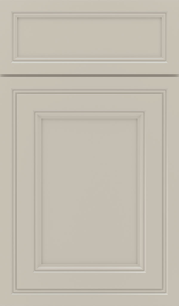Braydon Manor 5-Piece Maple Flat Panel Cabinet Door in Mindful Gray