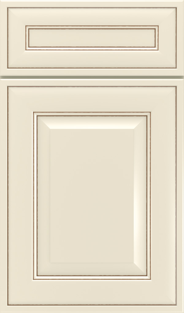 Davenport 5-Piece Maple Raised Panel Cabinet Door in Chantille Coffee