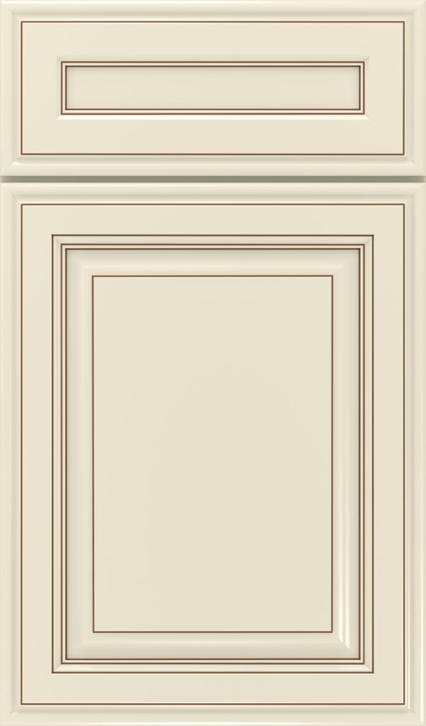 Galleria 5-Piece Maple Raised Panel Cabinet Door in Chantille Coffee