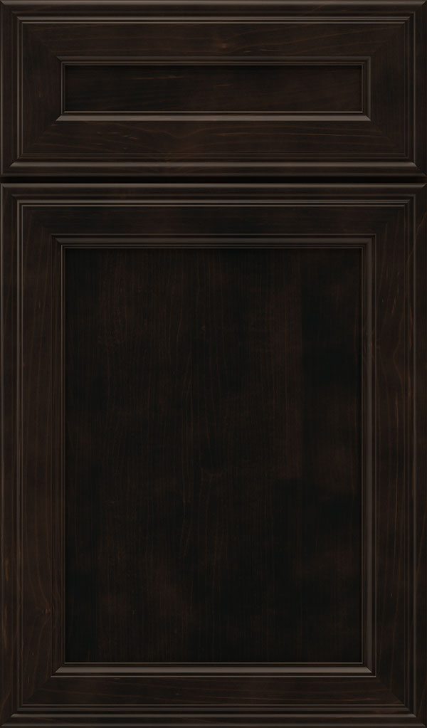 Girard 5-Piece Maple Raised Panel Cabinet Door in Teaberry