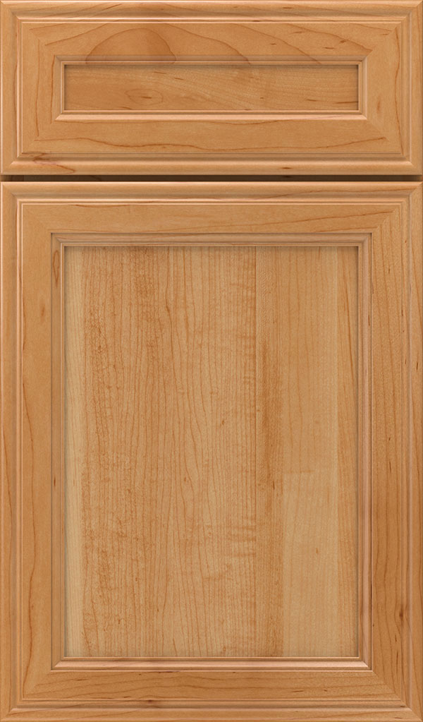 Girard 5-Piece Maple Raised Panel Cabinet Door in Wheatfield