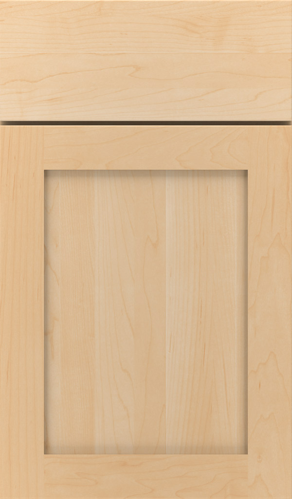Harmony Maple Shaker cabinet door in Natural