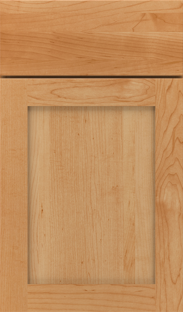 Harmony Maple Shaker Cabinet Door in Wheatfield
