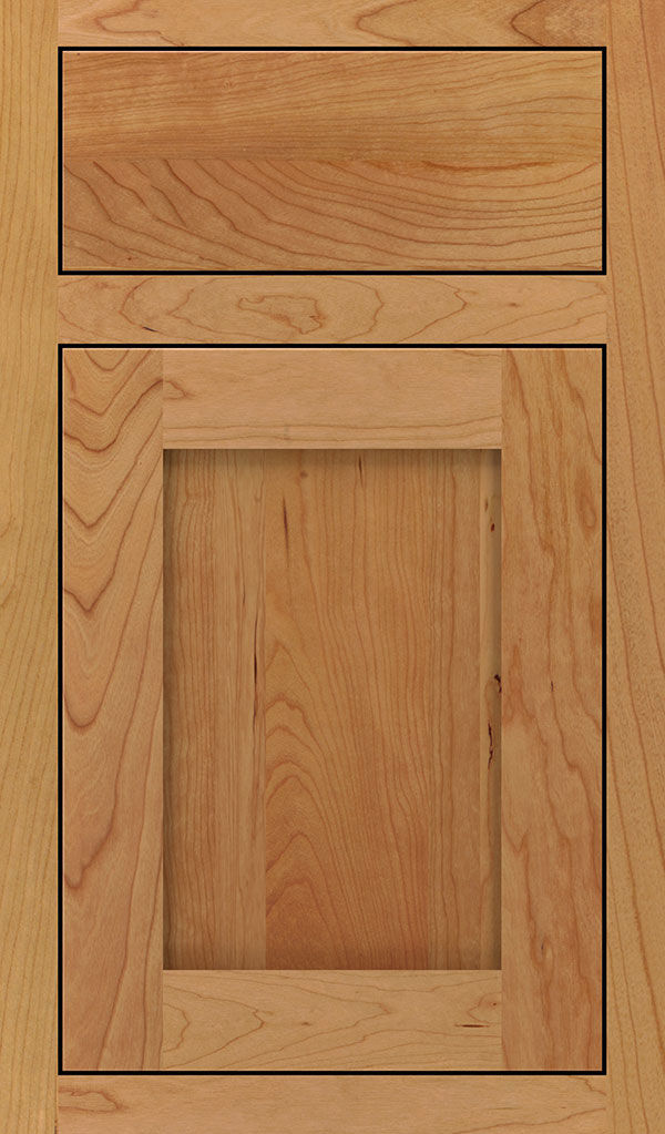Harmony Cherry Inset Cabinet Door in Natural