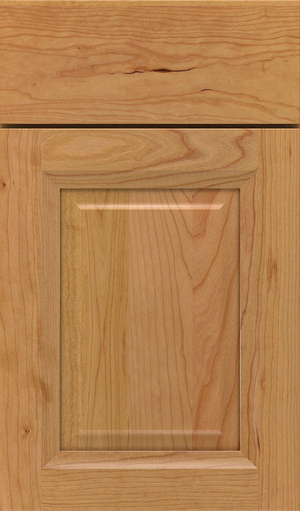 Hawthorne Cherry Raised Panel Cabinet Door in Natural