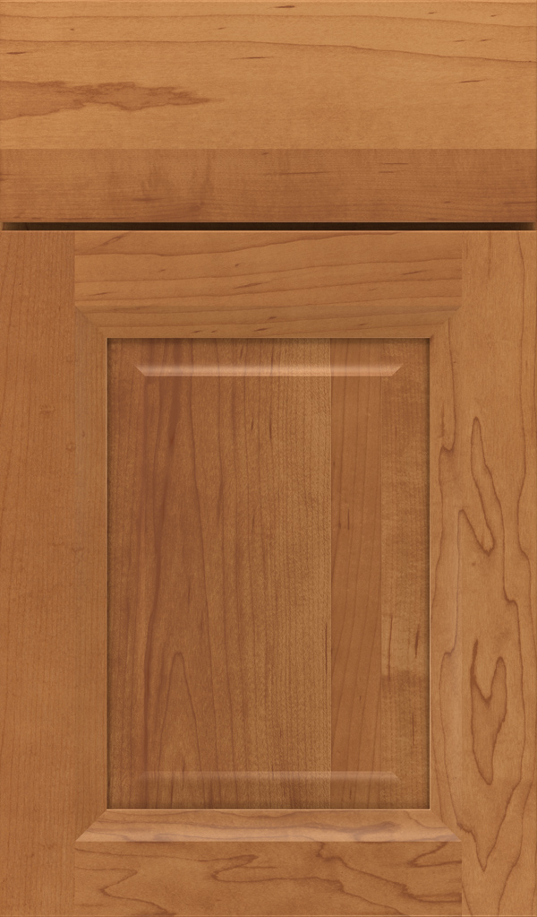 Hawthorne maple Rasied Panel Cabinet Door in Suede