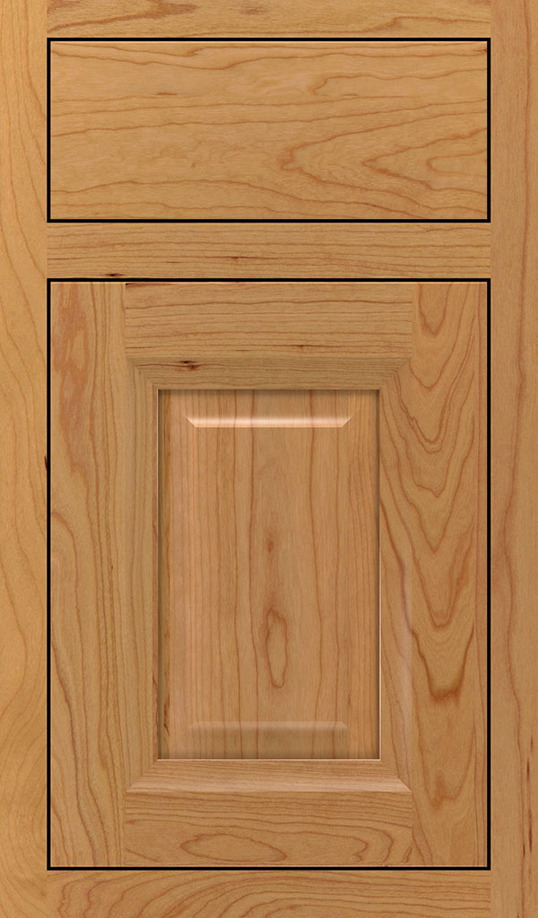 Hawthorne Cherry Inset Cabinet Door in Natural