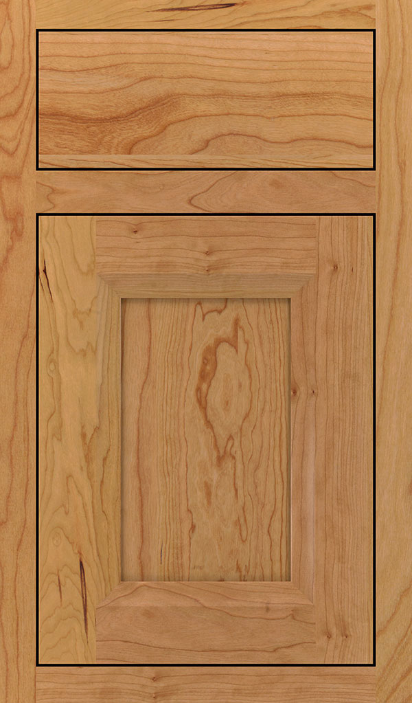 Huchenson Cherry Inset Cabient Door in Natural