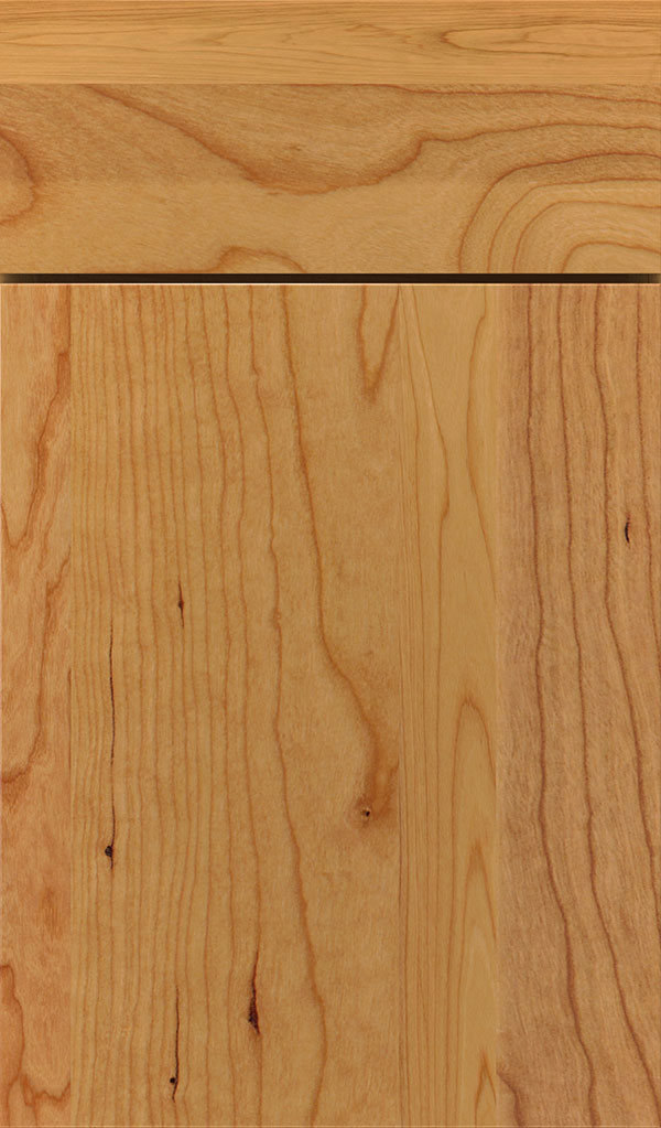 Marquis Cherry Slab Cabinet Door in Natural