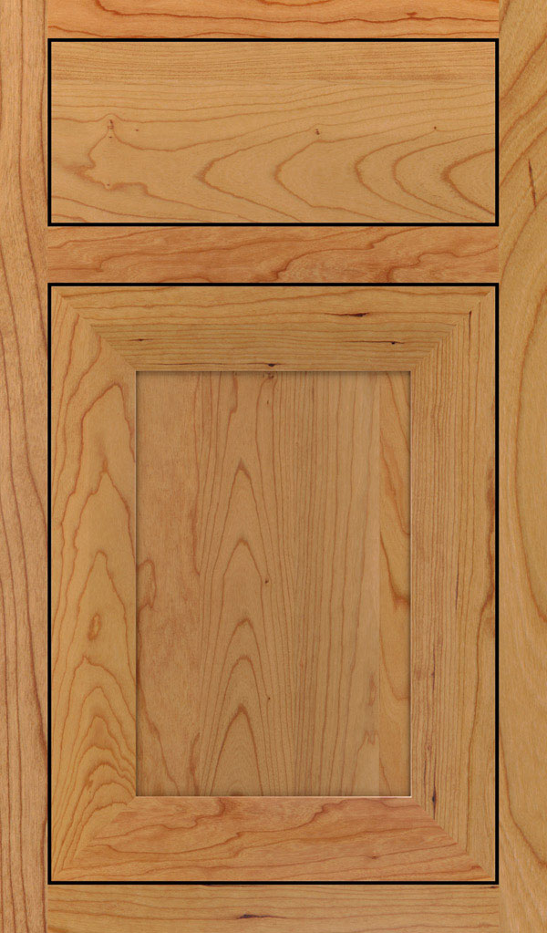 Modesto Cherry Inset Cabint Door in Natural