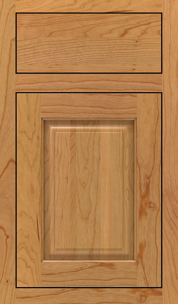 Plaza Cherry Inset Cabinet Door in Natural