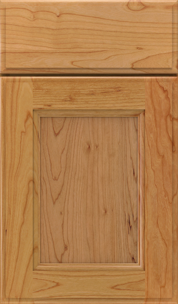 Roslyn Cherry Shaker Style Cabinet Door in Natural