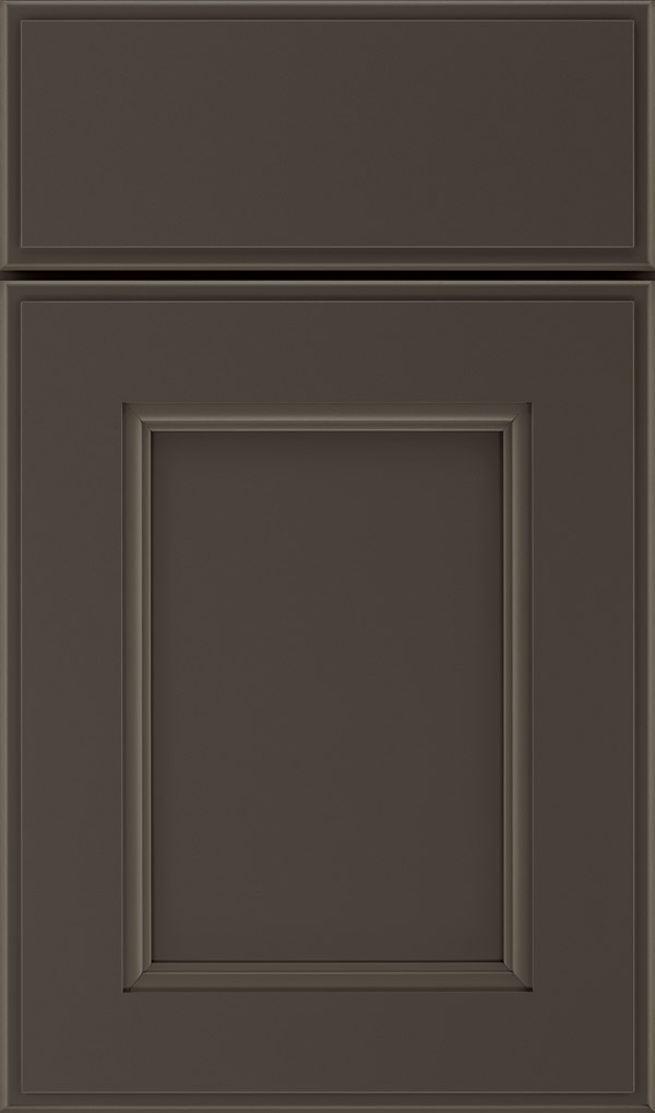 Roslyn Maple Shaker Style cabinet door in Black Fox