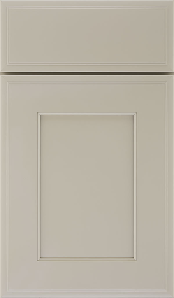 Sloan Maple Recessed Panel Cabinet Door in Mindful Gray