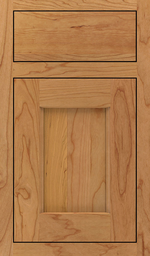 Treyburn Cherry Inset Cabinet Door in Natural