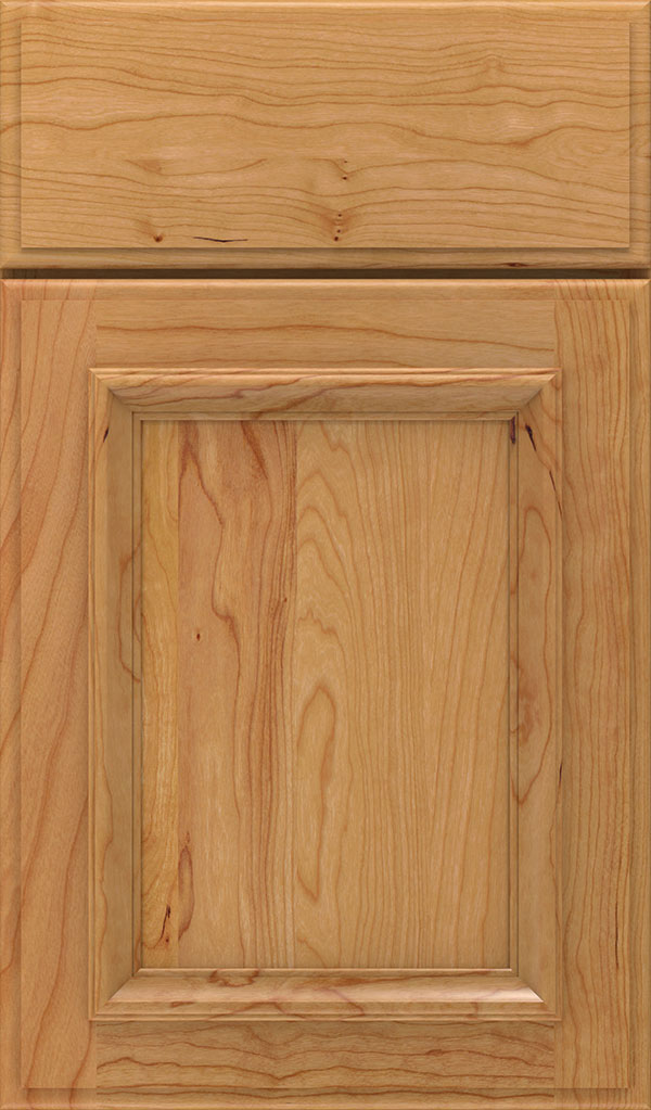 Yardley Cherry Raised Panel Cabinet Door in Natural