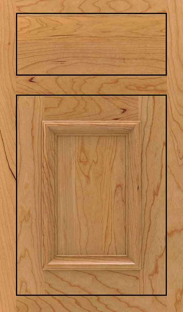 Yardley Cherry Inset Cabinet Door in Natural