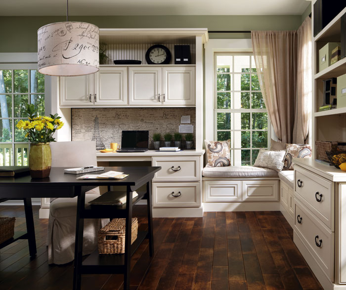 Spruce Up Your Kitchen With These Cabinet Door Styles: Gray Kitchen Cabinets With Island