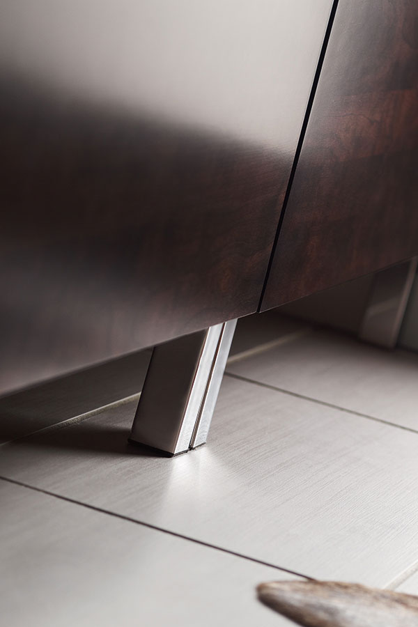 Square Metal Cabinet Foot